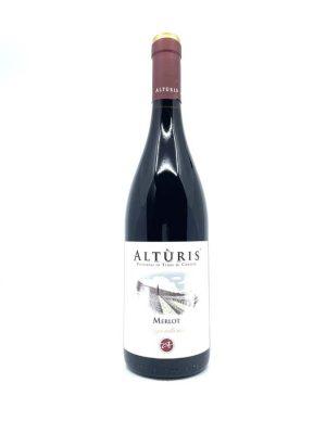WineBox červené víno Altúris-Merlot 2019
